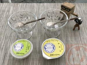 ラ フランスとレモン