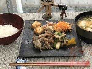 牛肉とキノコの甘辛煮